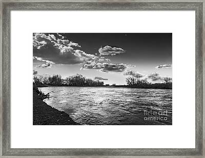Payette In The Spring Framed Print