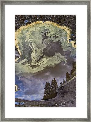 Payette Rain Puddle Framed Print