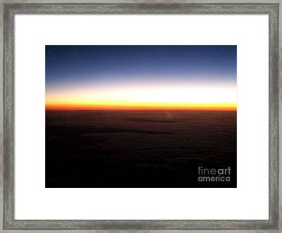 Paysage  Framed Print by Francoise Leandre