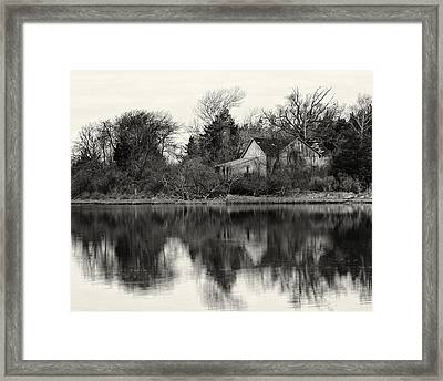 Peace Amidst The Chaos Framed Print by Vicki Jauron