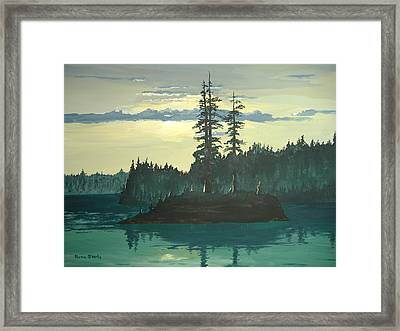 Peace And Quiet Framed Print by Norm Starks
