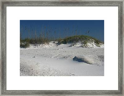Peace And Space Framed Print by Georgia Fowler