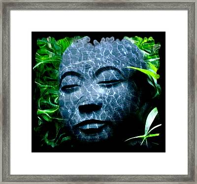 Peace And Tranquility Framed Print by Bill Cannon