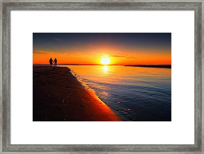 Peace And Tranquility Framed Print by Donna Pagakis