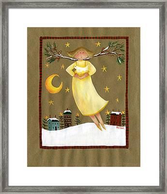 Peace Angel Framed Print