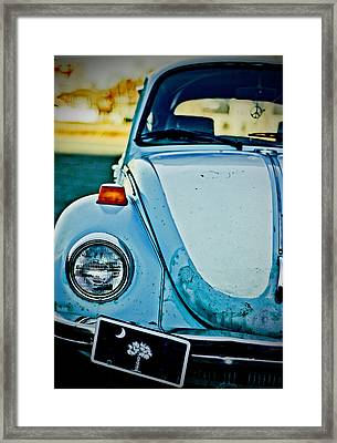 Framed Print featuring the photograph Peace Bug by Randall  Cogle
