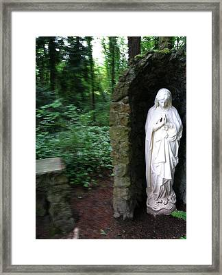 Peace In Chaos Framed Print