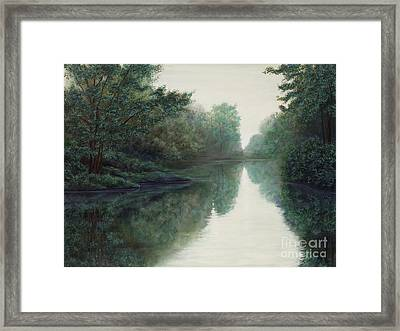 Peace Just Like A River Framed Print