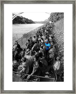 Framed Print featuring the photograph Peace by Mark J Seefeldt