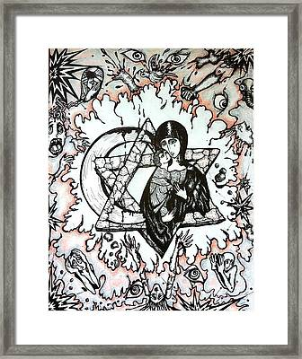 Peace Process Framed Print