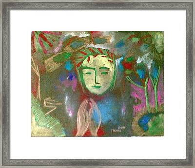 Peace.. Framed Print by Rooma Mehra
