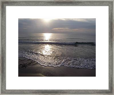Framed Print featuring the photograph Peace by Sheila Silverstein
