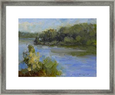 Peace Valley Park After The Storm Framed Print