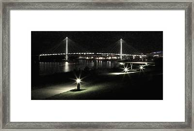Peaceful Night Framed Print by Tim Perry