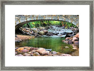 Peaceful Place Framed Print by Kristin Elmquist