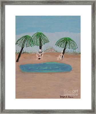 Peaceful Rest Framed Print by Gregory Davis