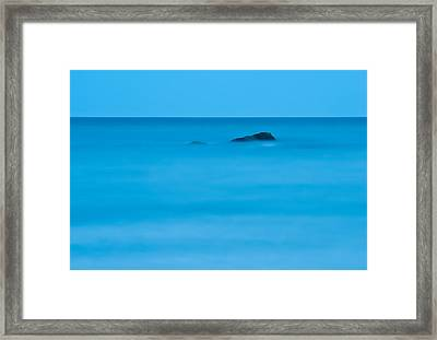 Framed Print featuring the photograph Peaceful Waters by Nancy De Flon