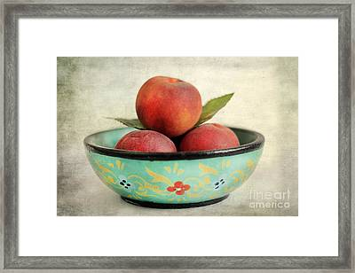 Peaches Framed Print by Darren Fisher