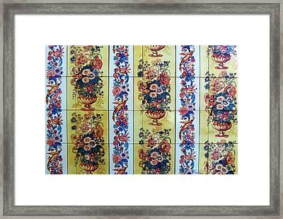 Peacon Framed Print by Paula Teresa