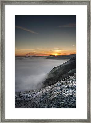 Peak District Sunrise Framed Print