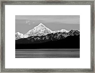 Peaked Framed Print by Don Mennig