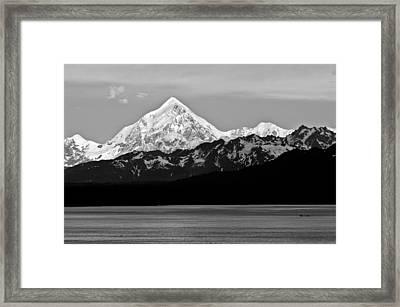 Peaked Framed Print