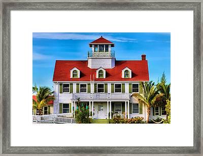 Peanut Island Framed Print by Debra and Dave Vanderlaan