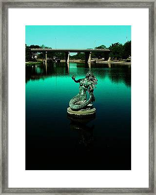 Framed Print featuring the photograph Pearl Of The Rios Concho by Louis Nugent