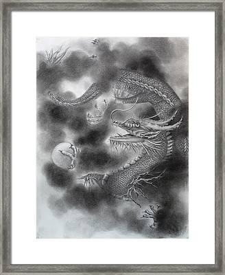 Pearl Of Wisdom Framed Print by Rayne Van Sing