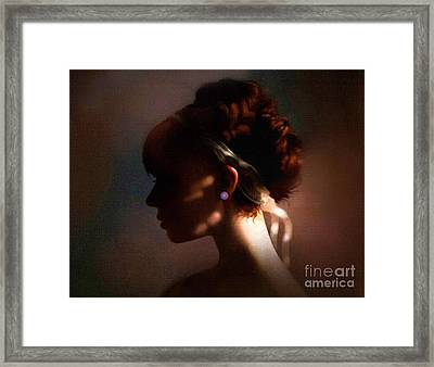 Pearl Framed Print by Robert Foster