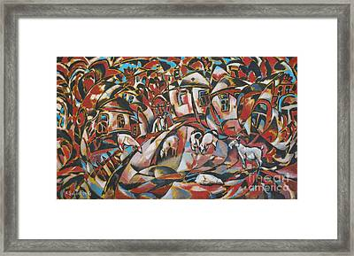 Pearl World Framed Print by Andrey Soldatenko
