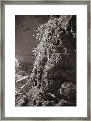 Pedernales Falls Tx Framed Print