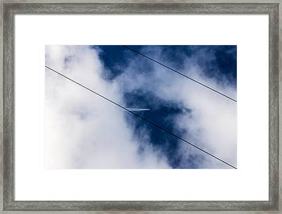 Framed Print featuring the photograph Peek-a-boo by Matti Ollikainen