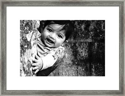 Peek A Boo  Framed Print by Priyanka  Gopakumar