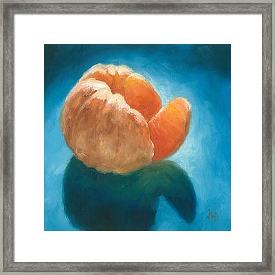 Framed Print featuring the painting Peeled by Joe Winkler