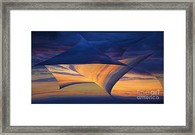 Peeling Back The Layers Framed Print
