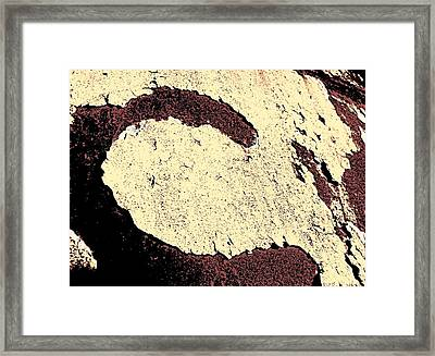 Pealing C Framed Print by Chris Berry