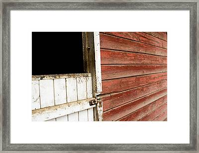 Framed Print featuring the photograph Peeling Paint by Lorraine Devon Wilke
