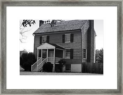 Peers House Appomattox County Court House Virginia Framed Print by Teresa Mucha