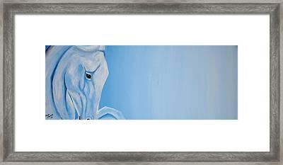 Pegasus Framed Print by Edwin Alverio