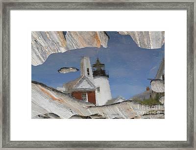 Pemaquid Point Light Framed Print by John Doble