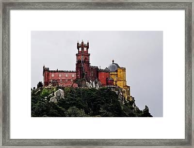 Pena Palace - Sintra Framed Print by Armando Carlos Ferreira Palhau