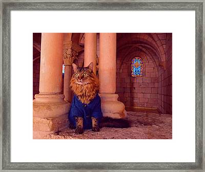 Penance Framed Print by Joann Biondi
