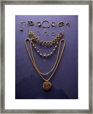 Pendant With Bracelet Framed Print by Andonis Katanos