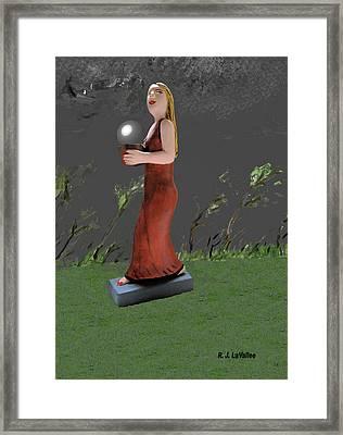 Pending Storm Framed Print