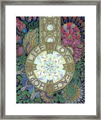 Pendulum Framed Print
