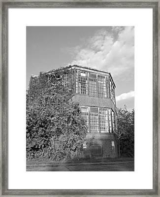 Pennhurst 5 Framed Print by Brenda Conrad