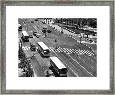 Pennsylvania Avenue II Framed Print by Steven Ainsworth