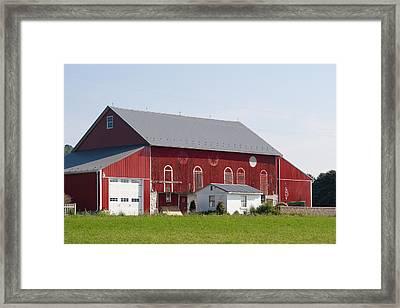 Pennsylvania Barn Framed Print by Jim Finch