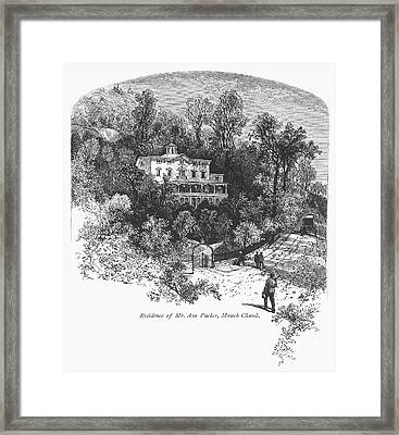 Pennsylvania: House, C1876 Framed Print by Granger